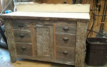 q barnwood vanity and mirror how do we change out the lighting