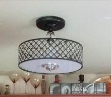replace flourescent light fixture
