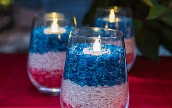 easy diy 4th of july candle holders