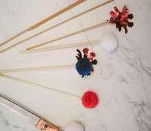 4th of july diy cocktail stir sticks