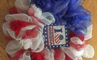 dollar store july 4th wreath makes your doorway inviting for dollars