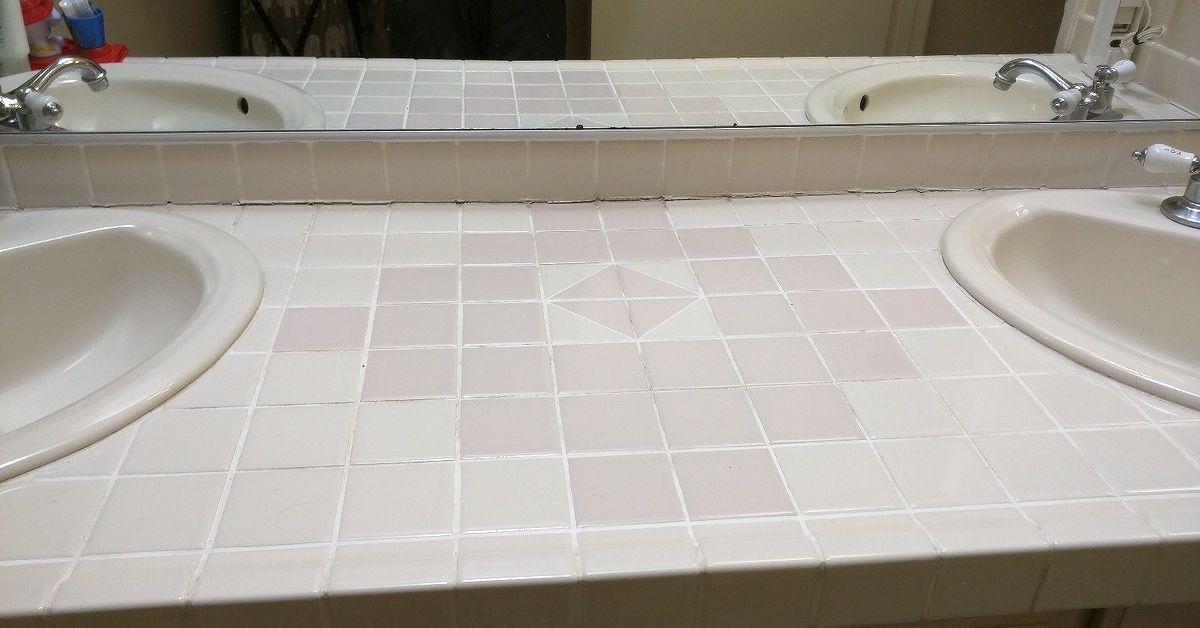Can I Paint Ceramic Tile On My Vanity Hometalk