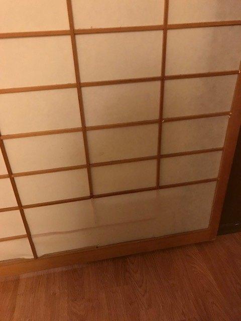q how to repair shogi screen doors