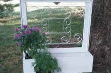 repurposing with salvaged aluminum screen guards