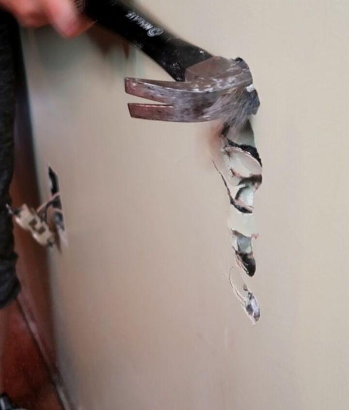 removal of pony half wall