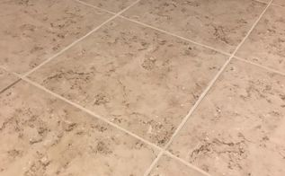 if cleaning your grout doesn t work try this