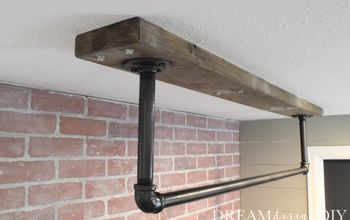 how to make a ceiling mounted pull up bar