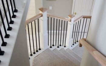 Farmhouse Staircase With Chalk Paint®