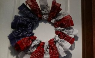 4th of july wreath ez