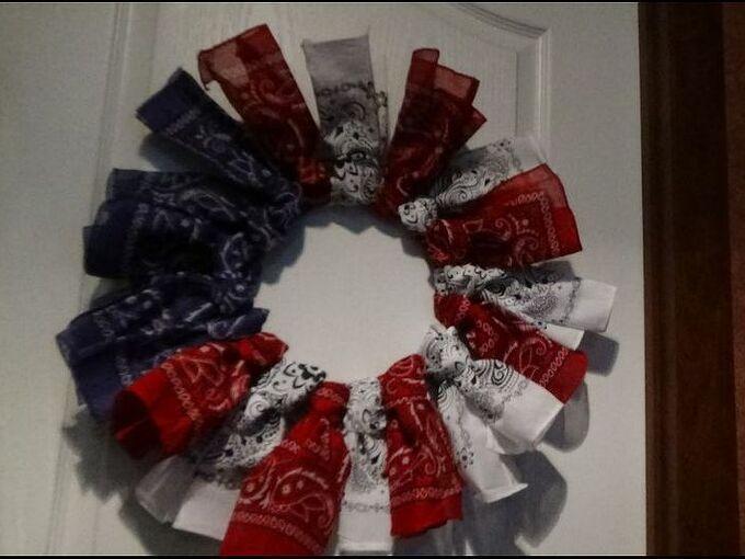 4th of july wreath ez