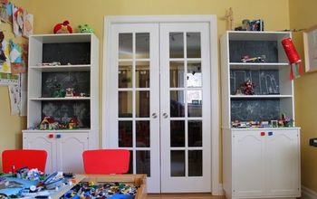 interactive lego display and craft storage