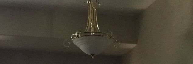 q what is the best and easiest way to cover brass on ceiling fans