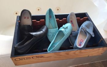 Wine Box to A Special Shoe Rack