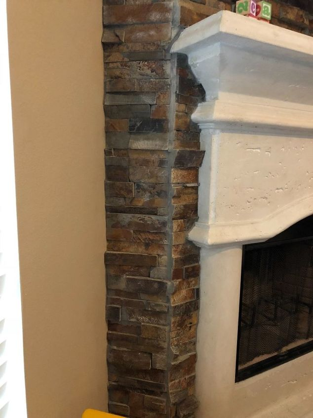 q fireplace stone can you color