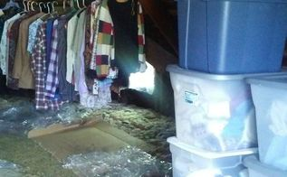 q how would you clean the air in the attic which i use for storage
