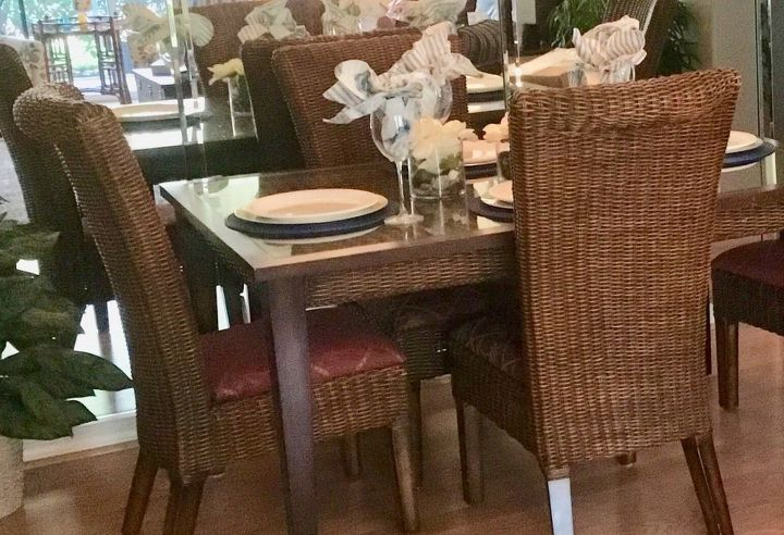 q dining table glass problem