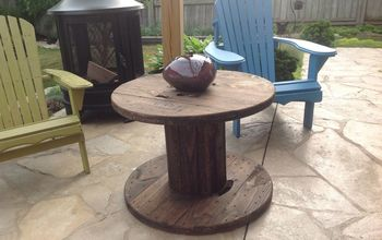 Outdoor Spool Table