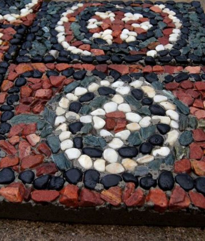 s 20 ways to incorporate mosaics to your home, Rock Pavers