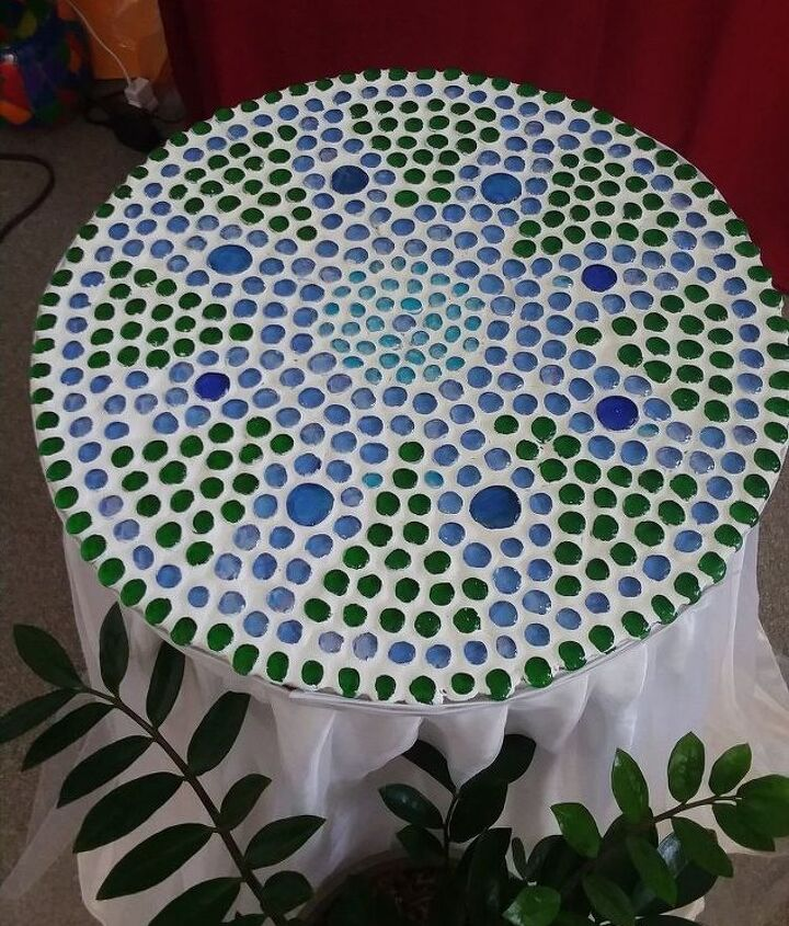 s 20 ways to incorporate mosaics to your home, Table Tops