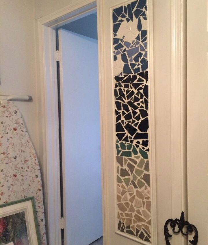s 20 ways to incorporate mosaics to your home, Vertical Artwork