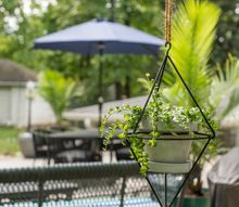 outdoor patio on a budget