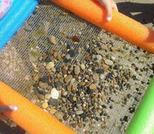 diy a shark tooth sifter for your beach trips