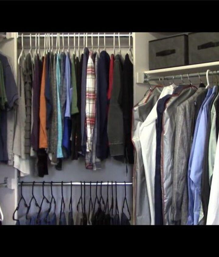 closet organization and hacks