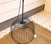 diy birdcage light tutorial budget friendly