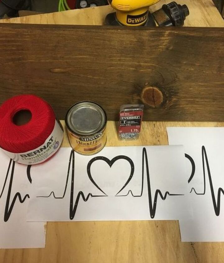 how to make your own string art