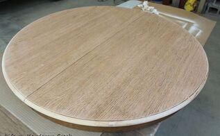 diy round farmhouse coffee table