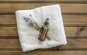 Homemade Lavender Linen Spray To Freshen Up Fabrics