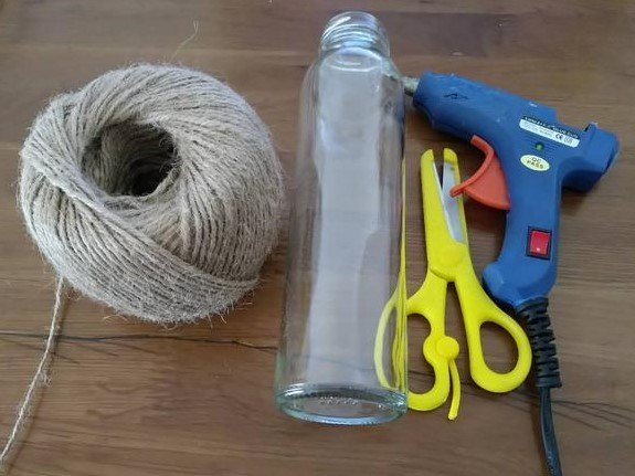 diy upcycled glass flower vase tutorial