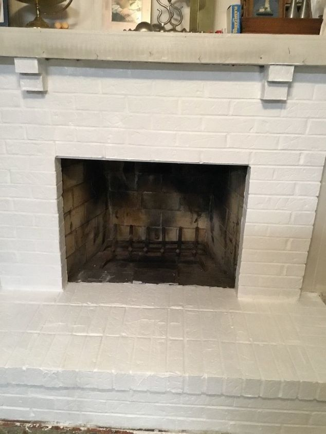 q i just painted my fireplace and i want to apply a touch of gray
