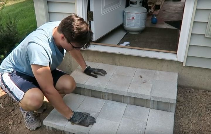 s get the outdoor space you ve always dreamed of with these diy ideas, Build cinder block steps