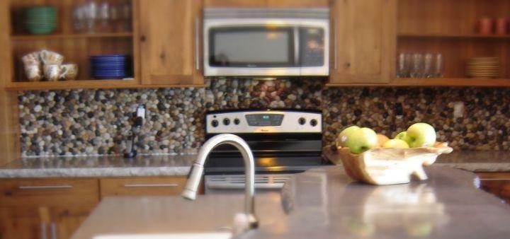 s 17 diy inspiring kitchen backsplashes, Rocky Road