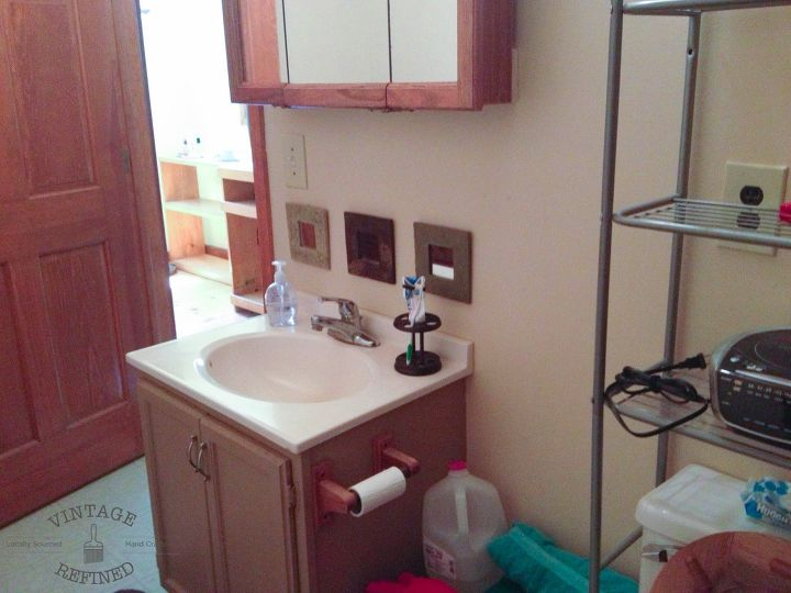 s these bathroom makeovers might inspire you to update your own, Before Old Outdated