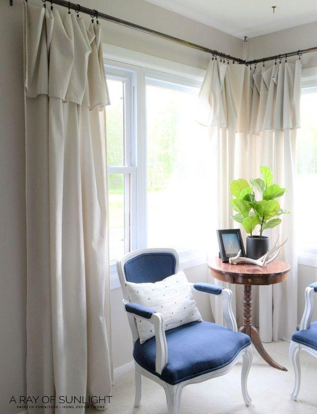 cheap no sew farmhouse curtains