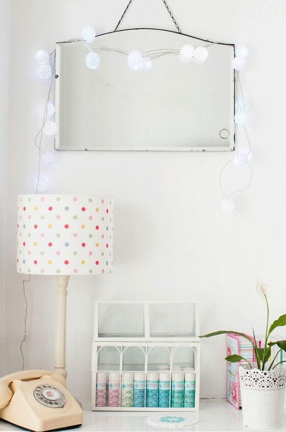 s 21 ways to have more polka dots in your life, Ping Pong Party Lights