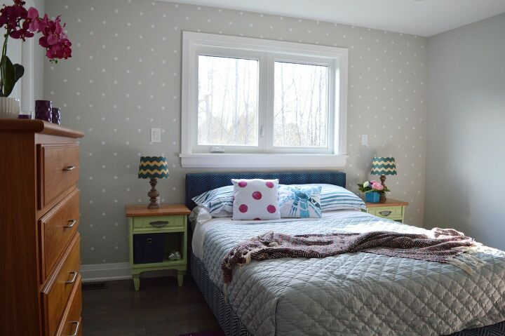 s 21 ways to have more polka dots in your life, Accent Bedroom Wall