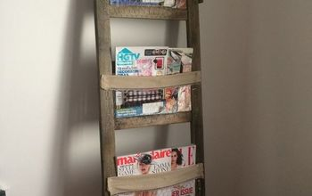 ladder to easy peasy magazine rack