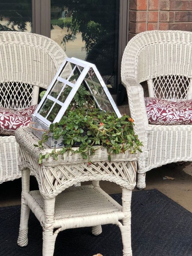 s 15 easy diy projects that you can do this weekend, Micro mini Greenhouse Planter