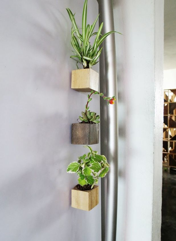 s 15 easy diy projects that you can do this weekend, Cute Fridge Succulent Planters