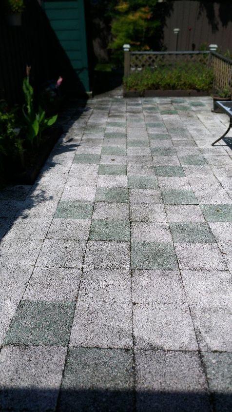 q how do you relevel settling paving stones