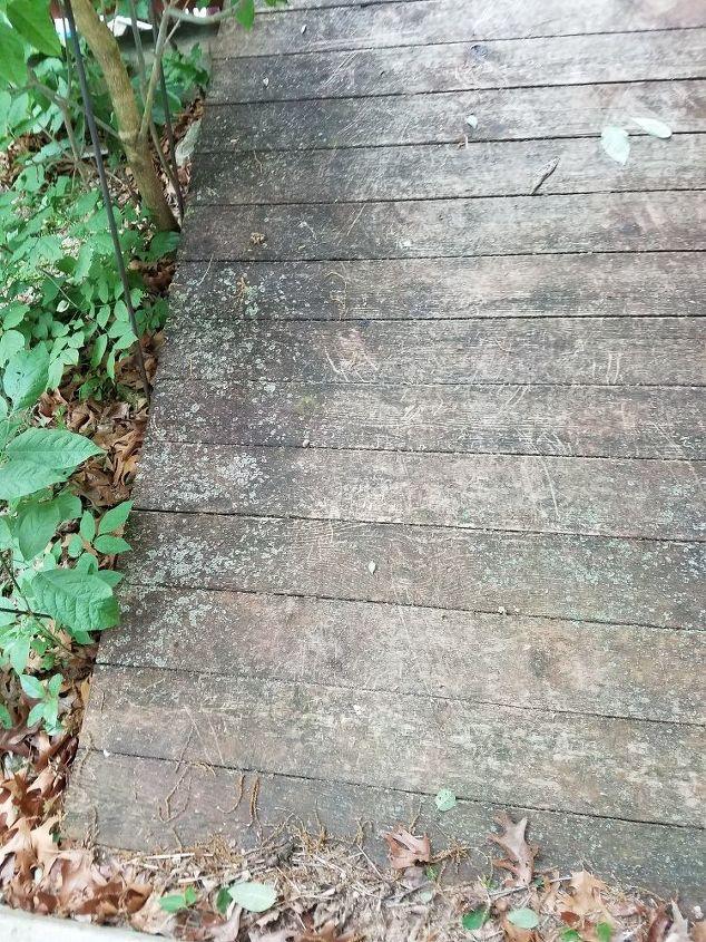 q my deck needs some tlc