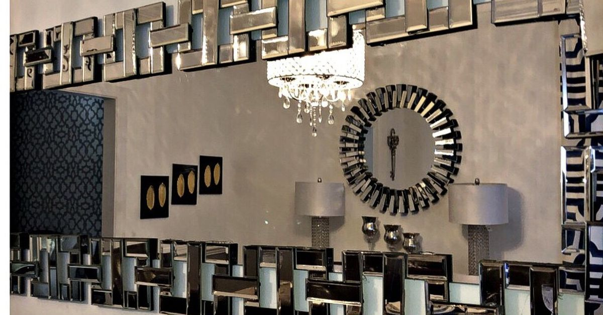 Designer Inspired Glamorous Mirror Diy Using Dollar Store