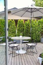 concrete patio table, Finished Concrete Patio Table