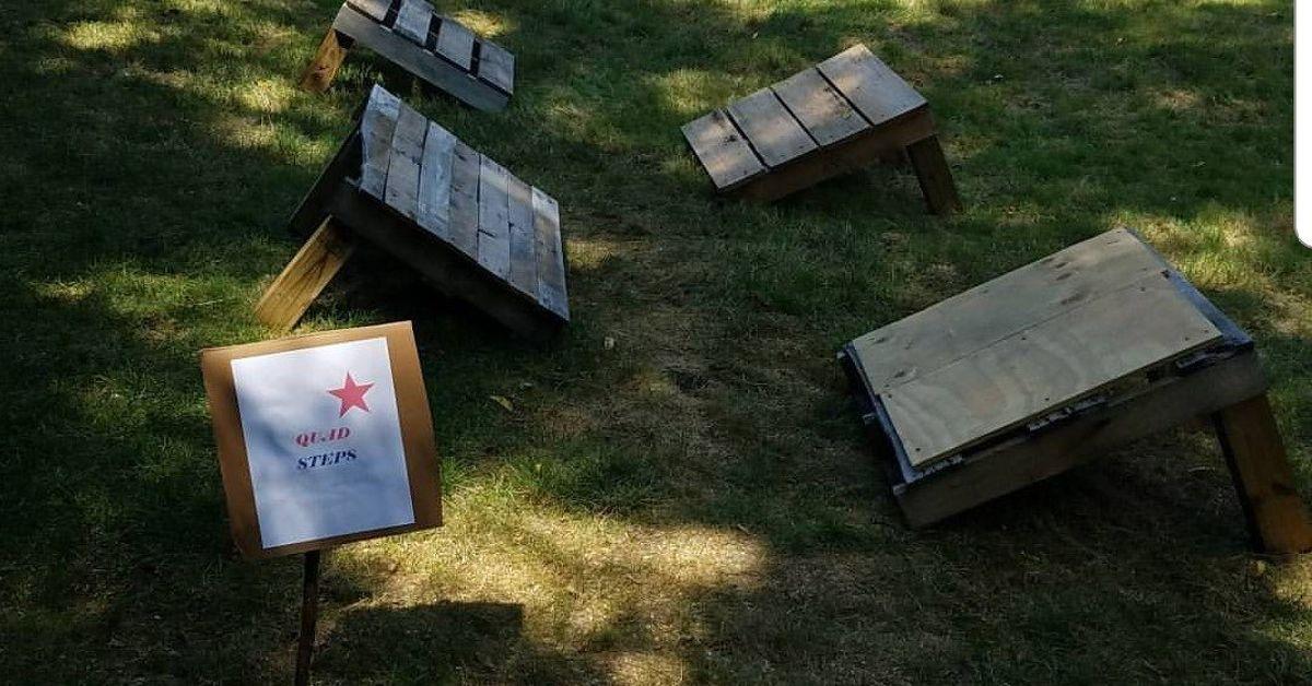 DIY Backyard American Ninja Warrior Course - Summer Fun ...