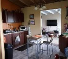 q how do i up date my small kitchen n dinning area