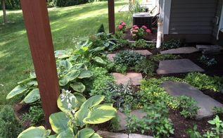 under deck garden