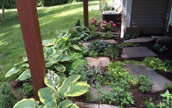 Under-deck Garden